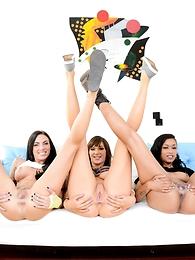 Juelz Ventura, Mike Adriano, Skin Diamond, Holly Michaels